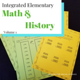 Integrated Elementary Math & History Volume 1