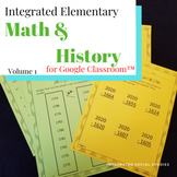 Integrated Elementary Math & History Volume 1 for Google C