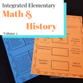 Integrated Elementary Math & History Volume 2