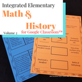 Integrated Elementary Math & History Volume 2 for Google C