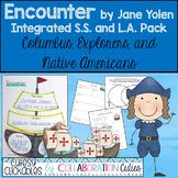 Integrated Explorers Language Arts Pack using Encounter {Common Core}