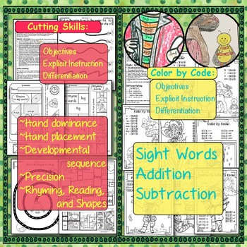 Integrated: Fine-Motor, Literacy, Math, Executive Function: SPRING Skill Builder
