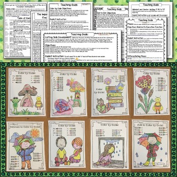 Fine-Motor, Literacy, Math, Executive Function: SPRING Distance Learning