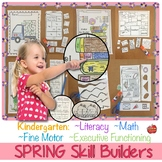 Fine-Motor, Literacy, Math, Executive Function: SPRING Dis