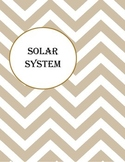 Integrated Lesson Outline - Solar System