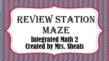 Integrated Math 2 Worksheets & Teaching Resources   TpT