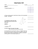 Integrated Math 3 - Over 1500 Review Questions