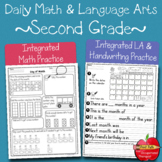 Integrated Math, LA, & Handwriting Skills Using Calendars