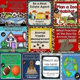 Integrated Math Projects GROWING Bundle Grades 3-5