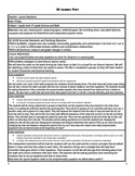 Integrated Math Science Lesson Proportionality Lesson Plan