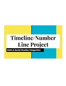 Integer Timeline Project - Integrated Math and Social Studies