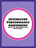 Integrated Performance Assessment IPA Health and Healthy living/ habits