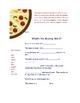 Integrated Pizza Unit: Economics, Science, Lang. Arts & More!