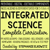 NGSS Integrated Science Curriculum - Printable, Digital &