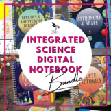 Integrated Science DIGITAL NOTEBOOK BUNDLE - Google Classr