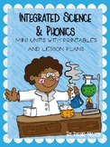 Integrated Science & Short Vowel (CVC) Unit - 1st Grade Lessons and Printables