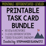 Earth, Life, Physical & Nature of Science Task Card Bundle