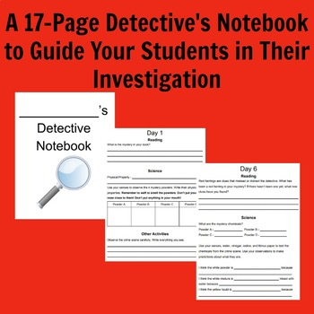 Integrated Science and Reading Mystery Unit