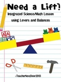 Integrated Science/Math Lesson using Levers and Balances