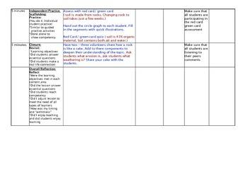 Integrated Soil Unit Lesson 3