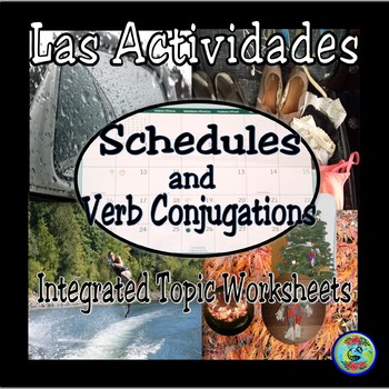 Verb Conjugation Worksheets:  Integrated Topic