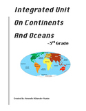 Integrated Unit (activities) on Continents and Oceans