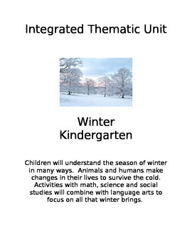 Integrated Winter Thematic Unit