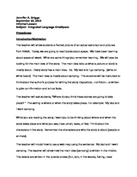 Integrated language Arts