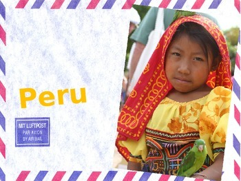 Visual Arts, History and Geography: Unit Study of Peru and art lesson
