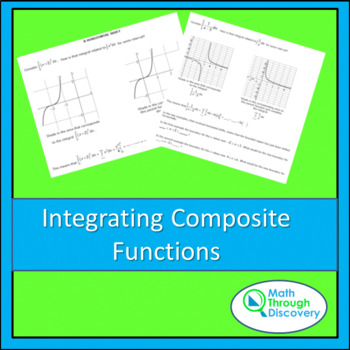 Calculus:  Integrating Composite Functions