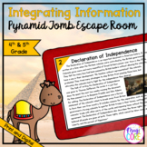 Integrating Information Escape Room - 4th & 5th Grade - Di