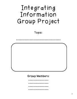Integrating Information Group Project