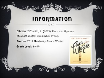 Integrating Literature Unit Flora and Ulysses by Kate DiCamillo