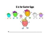 Easter Egg Math Packet