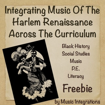 Integrating Music of the Harlem Renaissance Across the Curriculum