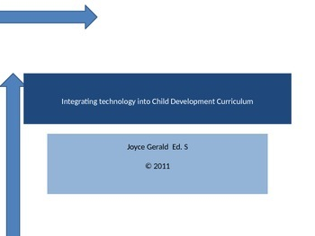 Integrating Technology into Child Development Curriculum