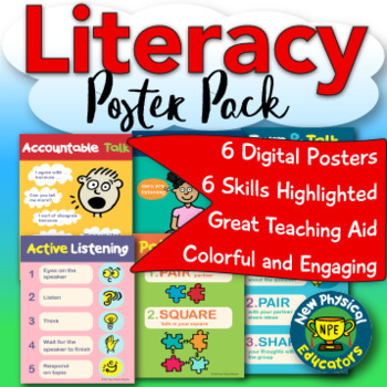 Literacy Poster Pack