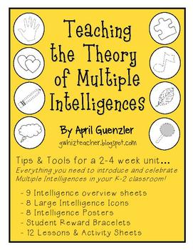 Integrating the Theory of Multiple Intelligences in the K-