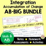 Calculus Integration BIG Bundle with Video Lessons (AB Ver