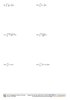Integration - Basic FTC - [Set 1]
