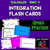 Calculus: Integration Flash - Study Cards
