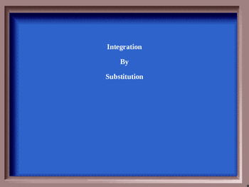 Integration Jeopardy Game - AP Calculus AB and BC