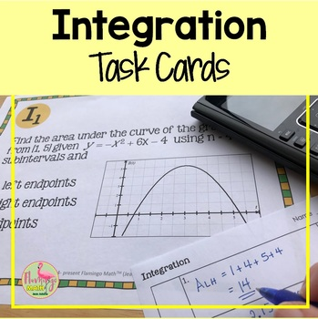 Calculus: Integration Stations Activity