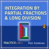 Integration by Partial Fractions & LD - Practice 3 in 1 (sol) -Distance Learning