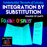 Integration by Substitution Change of Variables Foldable Organizer