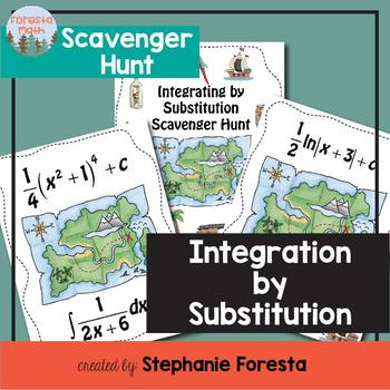 Integration by Substitution Scavenger Hunt