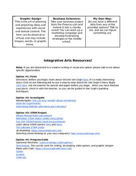 Integrative Arts Project