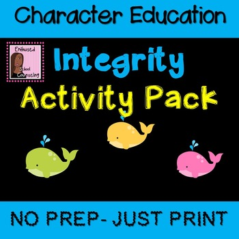 Integrity Activity Pack- 7 Activities