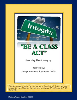 Integrity: Be A Class Act