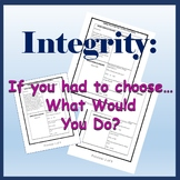Integrity: What Would You Do? PART 1